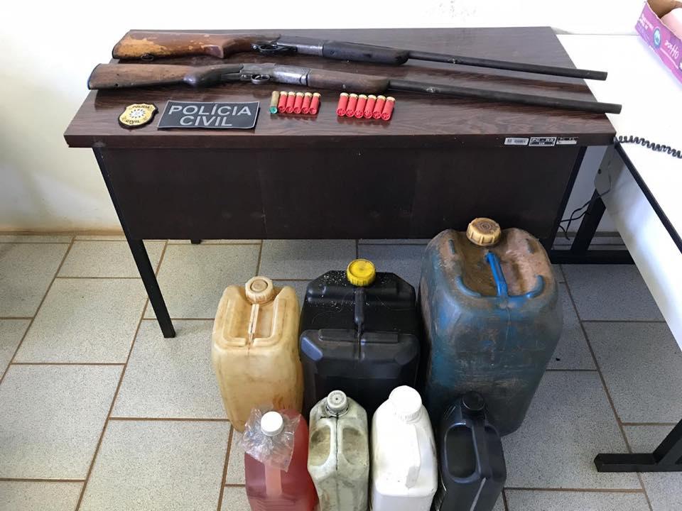 Tentativas de homicídio em São Nicolau motivam apreensão de armas e galões de gasolina