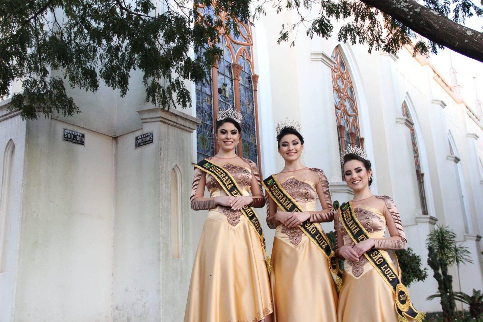 Escolha das Soberanas da Expo São Luiz será no dia 25 de novembro, na Praça Cícero Cavalheiro