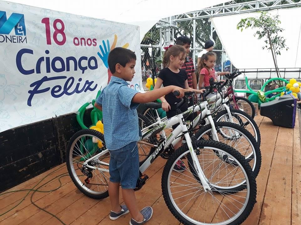 Criança Feliz: Rádio Missioneira já conseguiu a doação de 16 bicicletas