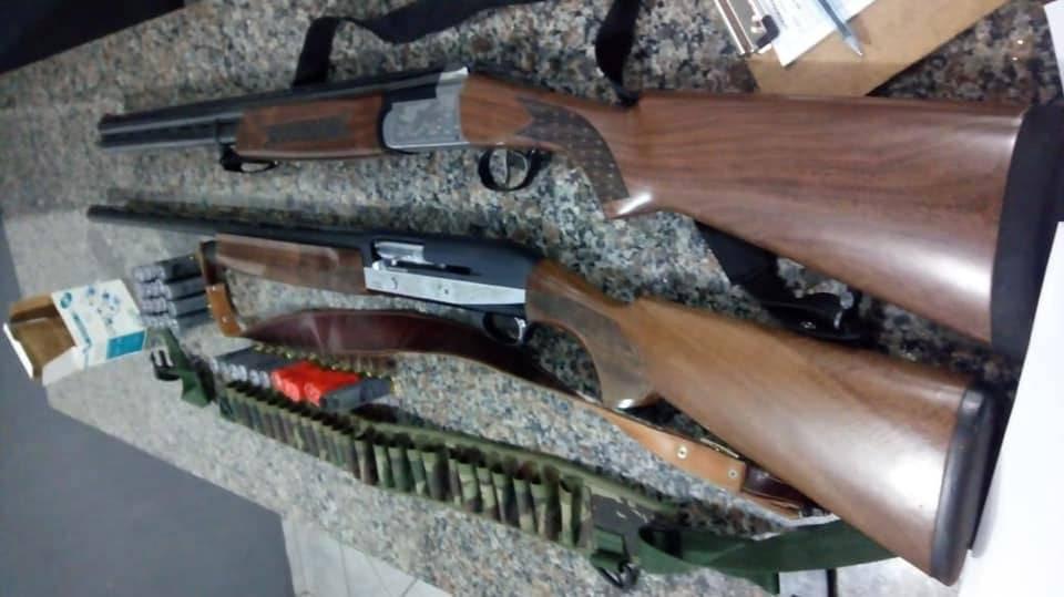 Caçadores ilegais são detidos pela Brigada Militar no interior de Dezesseis de Novembro