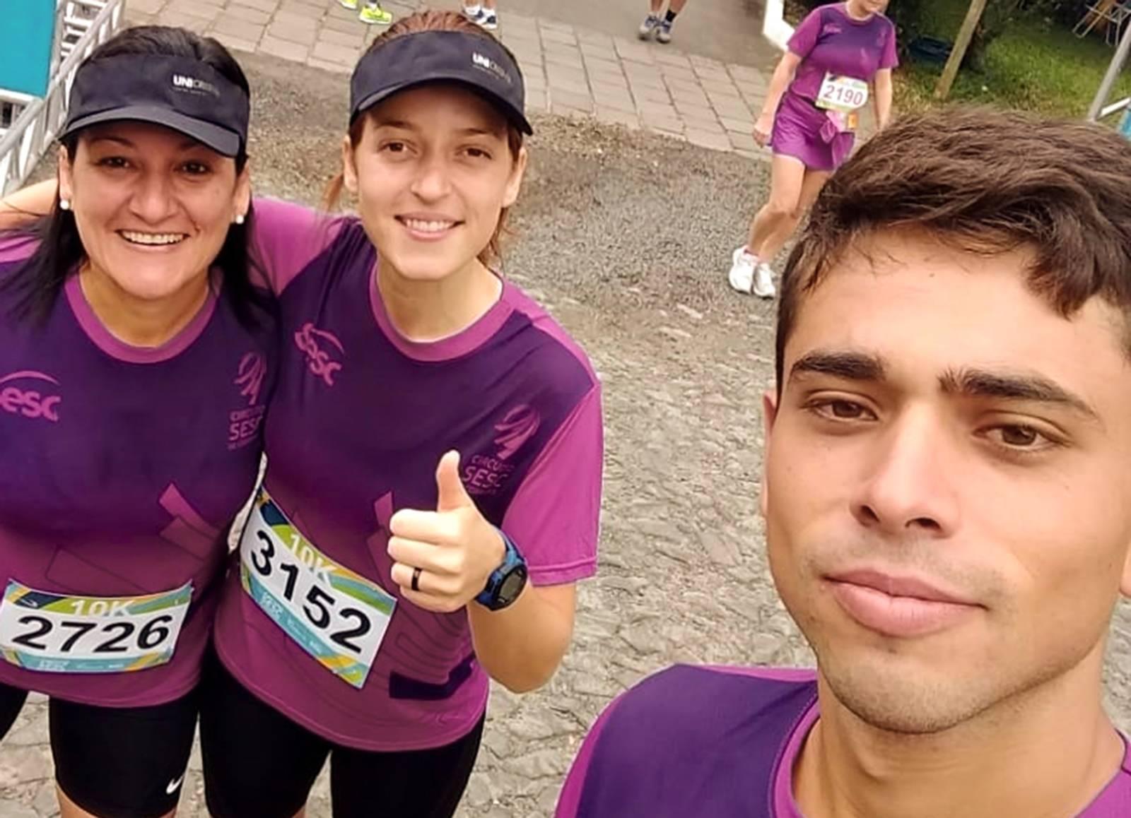 Atletas de Roque participam de finais de corrida do Sesc
