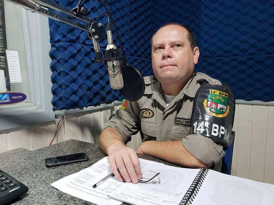 Informações da comunidade foram importantes para combater crimes, destaca comandante do 14°BPM