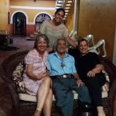 A documentarista também visitou a Família Ortaça