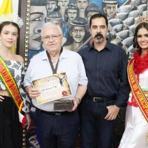 O jornalista José Grisolia Filho foi agraciado com a honraria