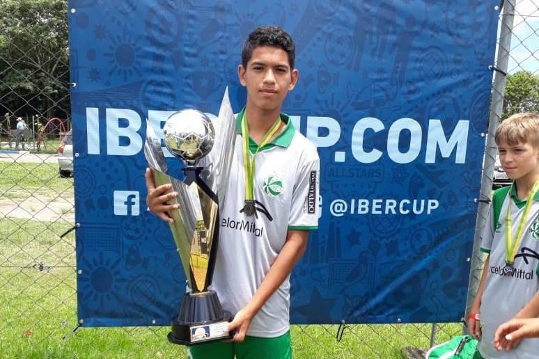 São-luizense Riquelme começa o ano com dois títulos pelo Juventude
