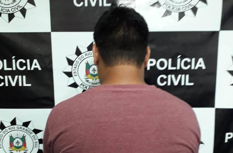 Polícia Civil prende homem por porte ilegal de arma