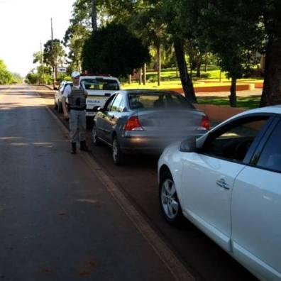 Foram desenvolvidas operações de controle de trânsito