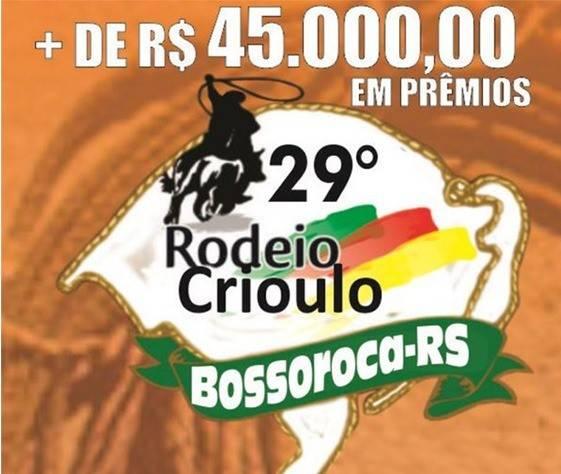 Presidente do Sindicato Rural agradece a participantes e público do 29° Rodeio Crioulo de Bossoroca