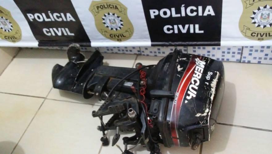 Polícia apreende objetos pertencentes a suspeitos de abigeato