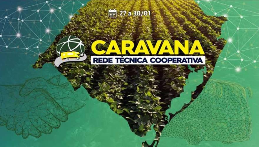Rede Técnica Cooperativa promove 1ª Caravana pelo Rio Grande do Sul