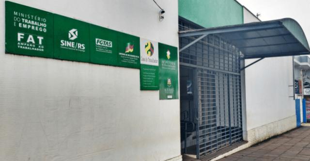 Agência do Sine divulga vagas disponíveis em São Luiz Gonzaga