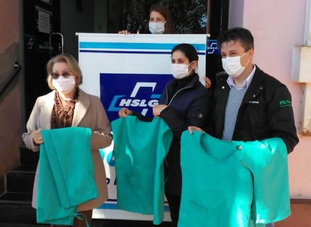 SUPERSAFRA Comercial Agrícola entregou 80 conjuntos de EPIs ao Hospital