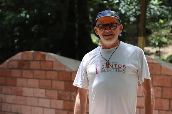 Após falecimento de Inácio Bieger, Associação Amigos da Trilha dos Santos Mártires tem nova presidente interina