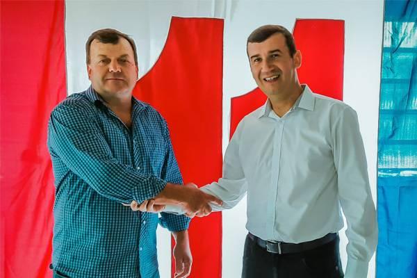Ricardo Klein e Rafael Godois são os candidatos da coligação PP/PDT/PTB/PSL/PSDB em São Nicolau