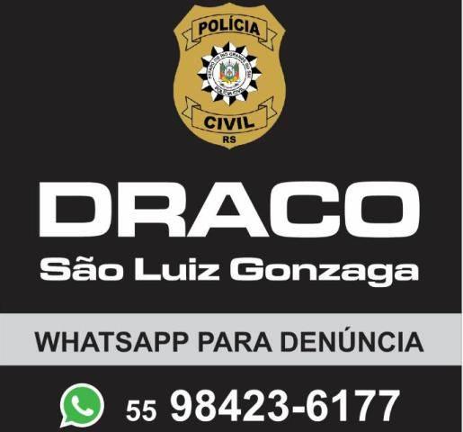 Polícia Civil captura foragido do Paraná em São Luiz Gonzaga