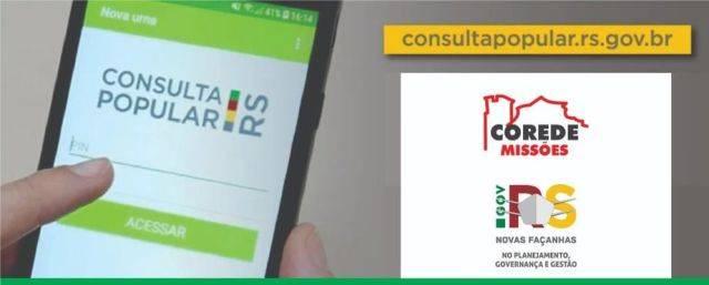 Participação na Consulta Popular é baixa, Cidadão pode votar