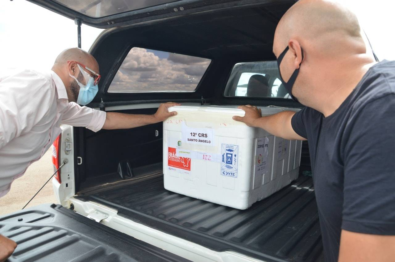 Divulgado o número de doses da CoronaVac que cada município da região receberá