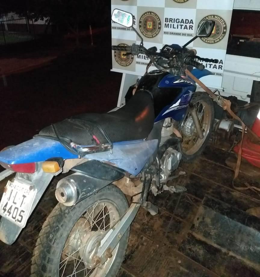 Moto roubada recuperada e tráfico de drogas entre as ocorrências atendidas pela Brigada Militar