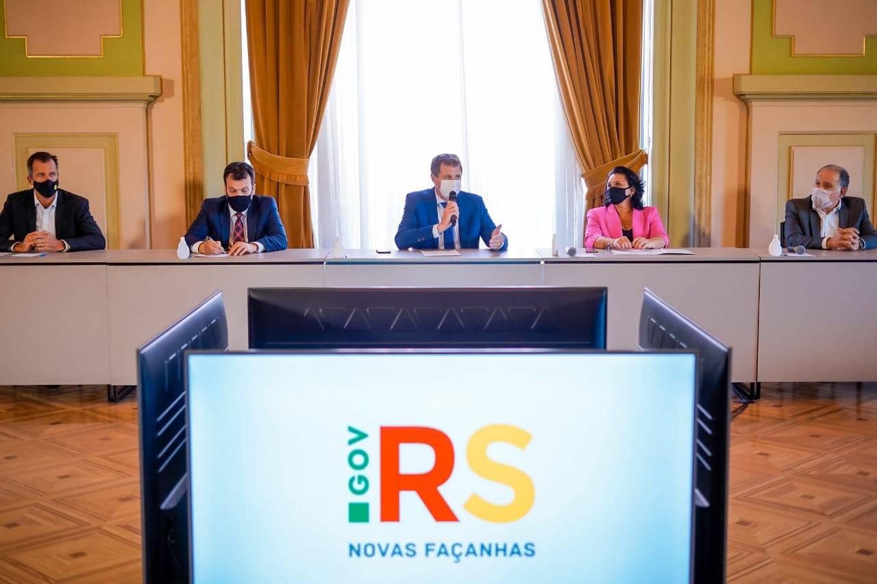 Governador em exercício, Ernani Polo, se reúne com representantes do setor de energias renováveis do Estado