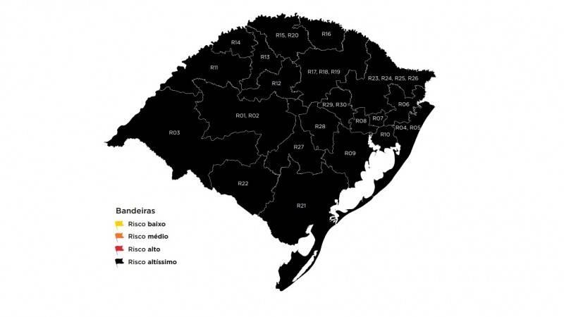 Decreto municipal recepciona medidas sanitárias da bandeira preta