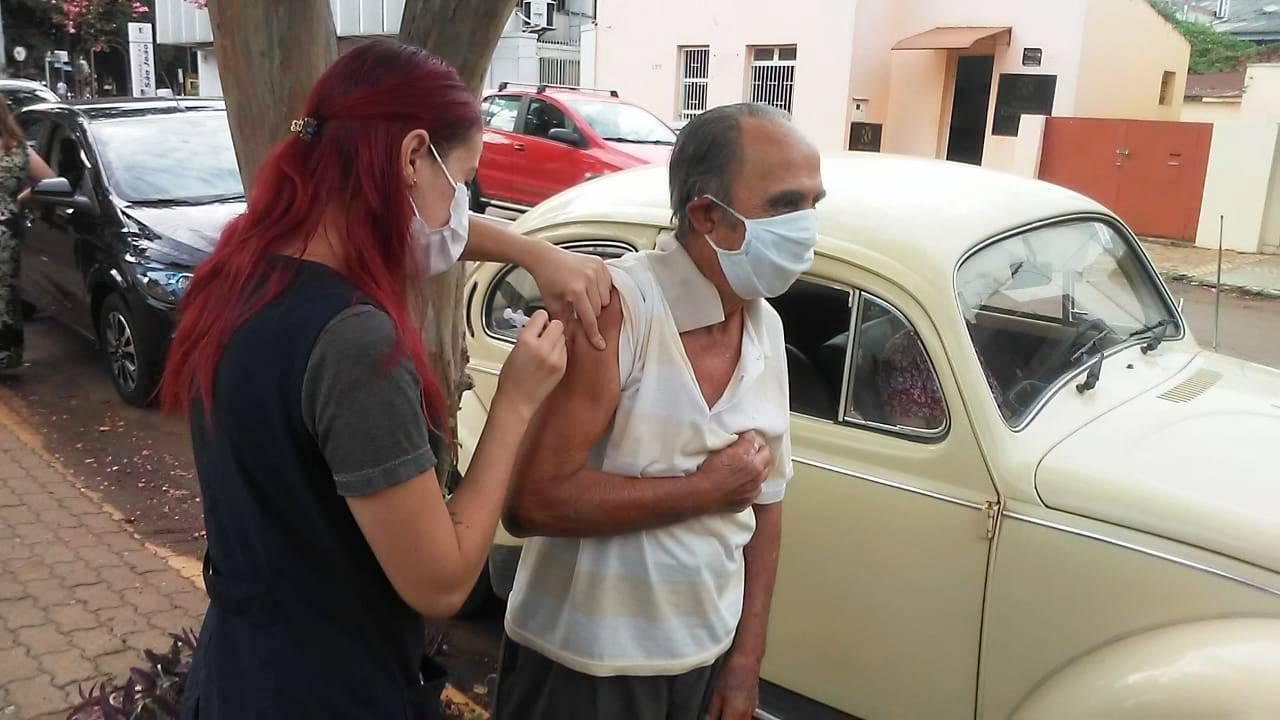Maioria dos idosos acima de 85 anos já foram vacinados em São Luiz Gonzaga