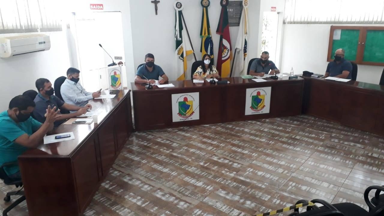 Câmara de Vereadores de Bossoroca realiza Sessão Extraordinária