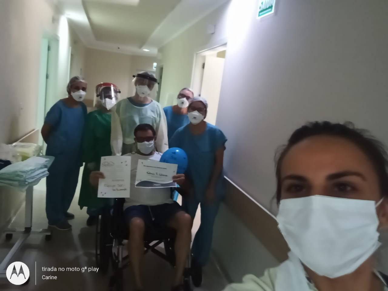 Vereador Valmir Silveira deixa hospital após 21 dias internado com covid-19