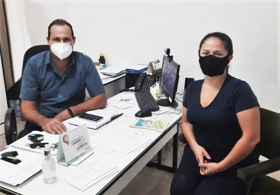 São Nicolau: vereadora Ana Paula visita secretário para tratar de casos suspeitos de Dengue