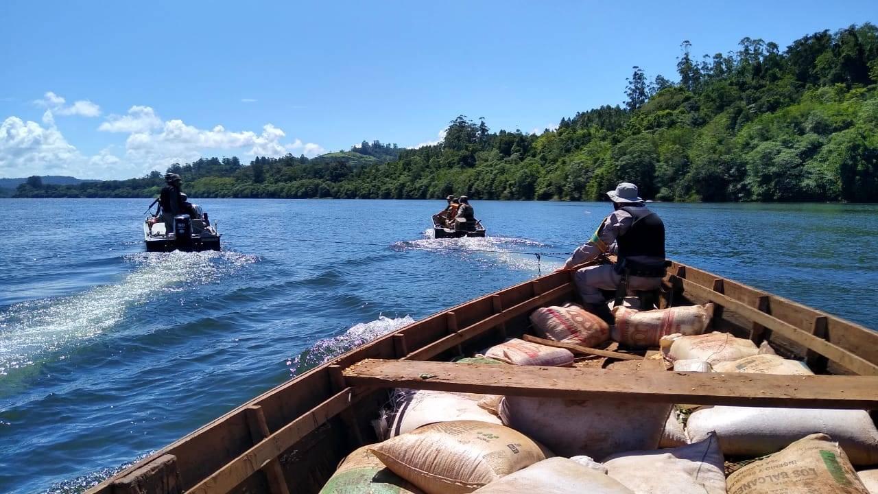 Operação Ágata é realizada nas águas do Rio Uruguai