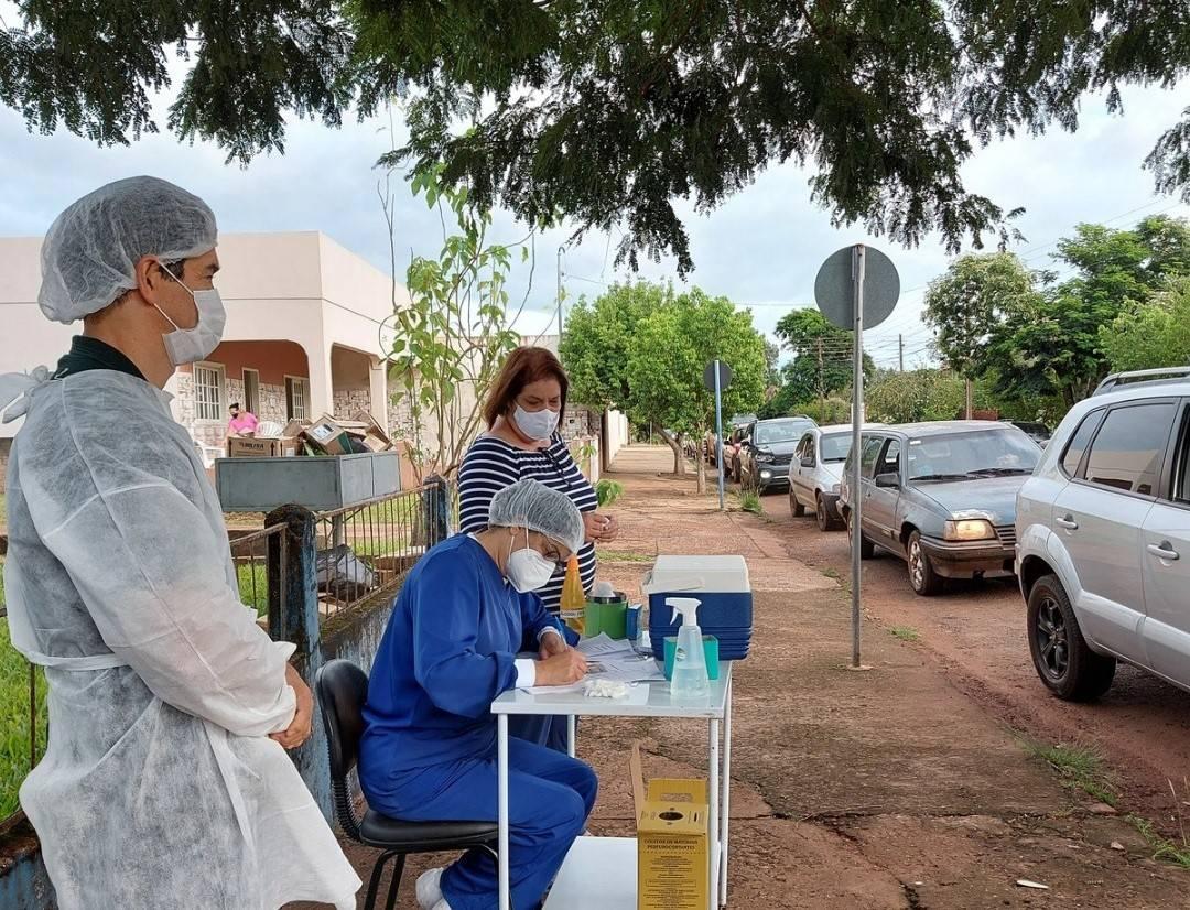 Bossoroca inicia a vacinação contra a covid-19 da população acima de 61 anos