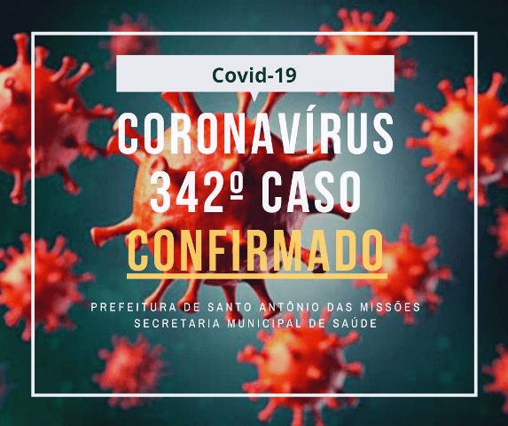 Covid-19: Santo Antônio das Missões registra mais um caso da doença