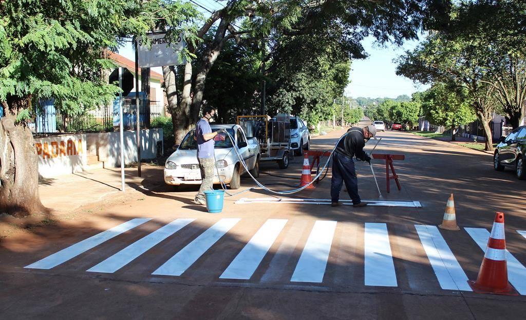 Prefeitura de São Luiz Gonzaga adquire máquina de pintura para melhorias no trânsito