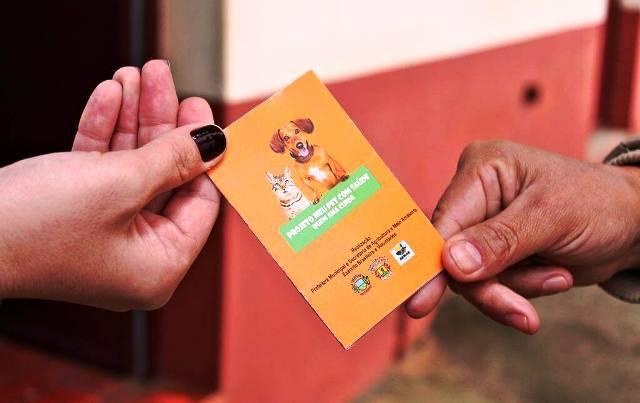 """Projeto """"Meu pet com saúde"""" terá atividades no dia 7 de junho no Bairro Floresta"""