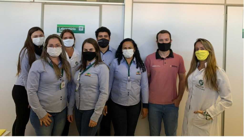 Equipe do Laboratório de Solos e Sementes da Coopatrigo recebe aperfeiçoamento