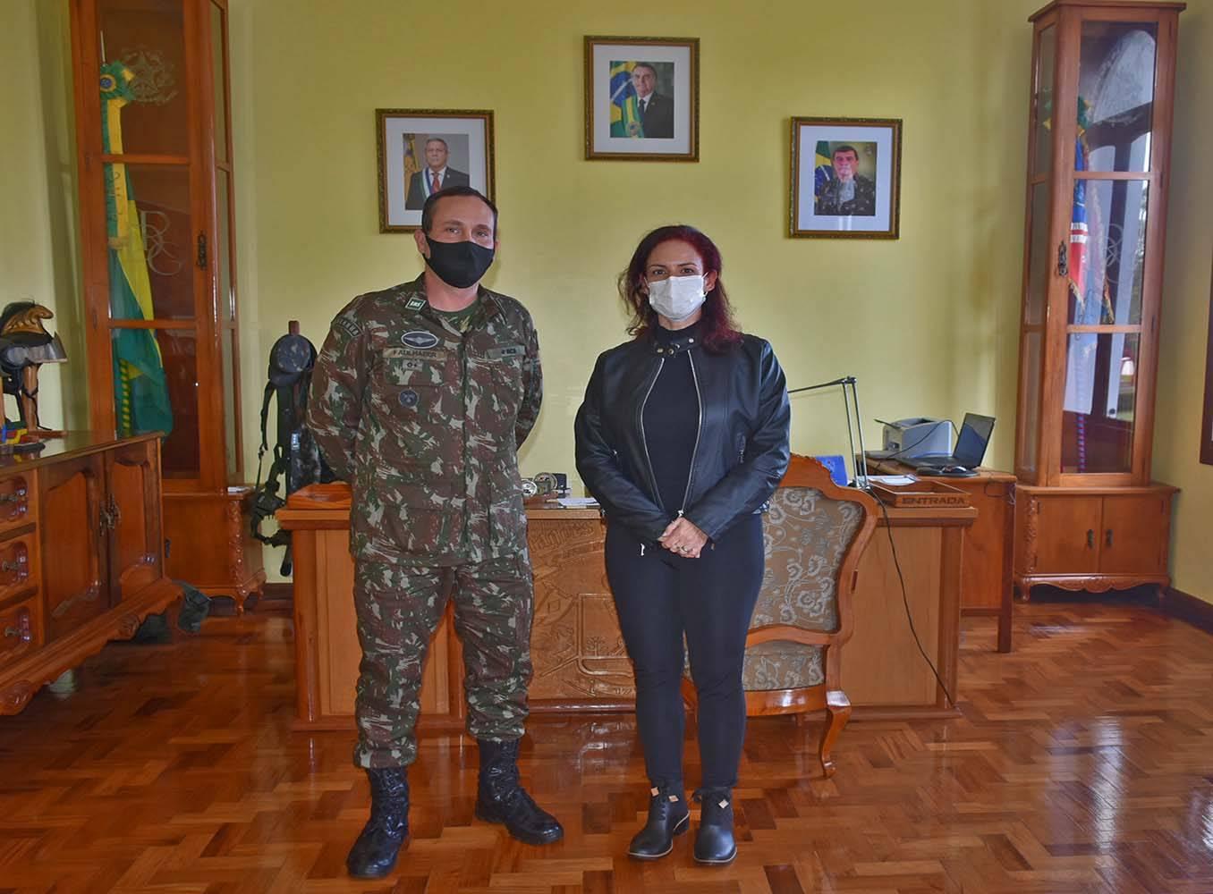 Justiça Militar realiza visita de inspeção carcerária no 4º RCB