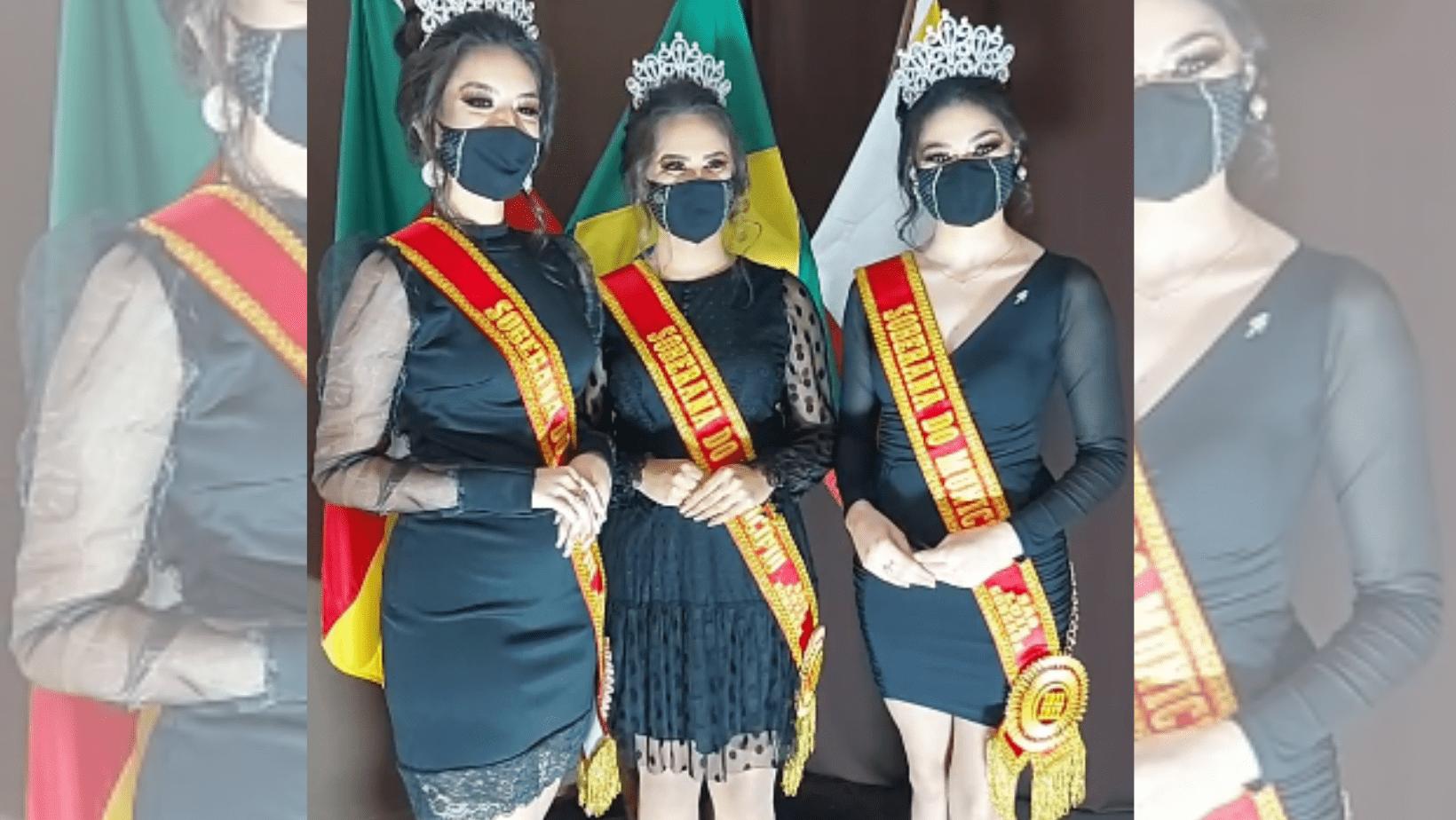 Coroadas as novas Soberanas do Município de São Luiz Gonzaga