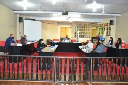 Sessão da Câmara contou com seis proposições apresentadas pelos vereadores