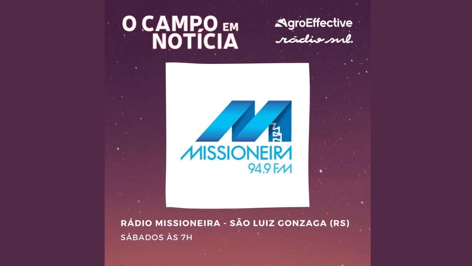 """Programa """"O Campo em Notícia"""" estreia neste sábado na Missioneira FM"""
