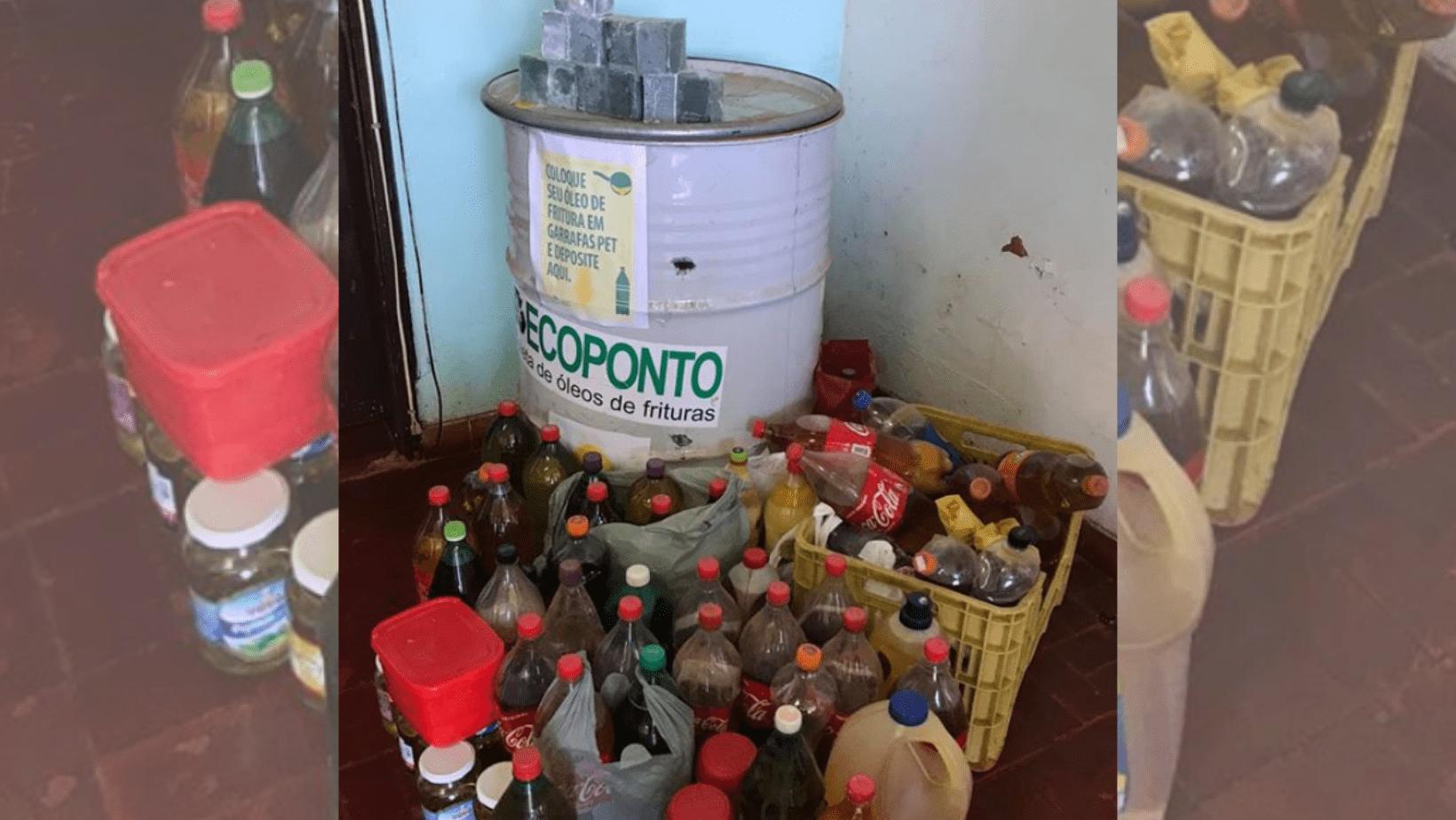 São Nicolau promove projeto para recolhimento de óleo de cozinha usado