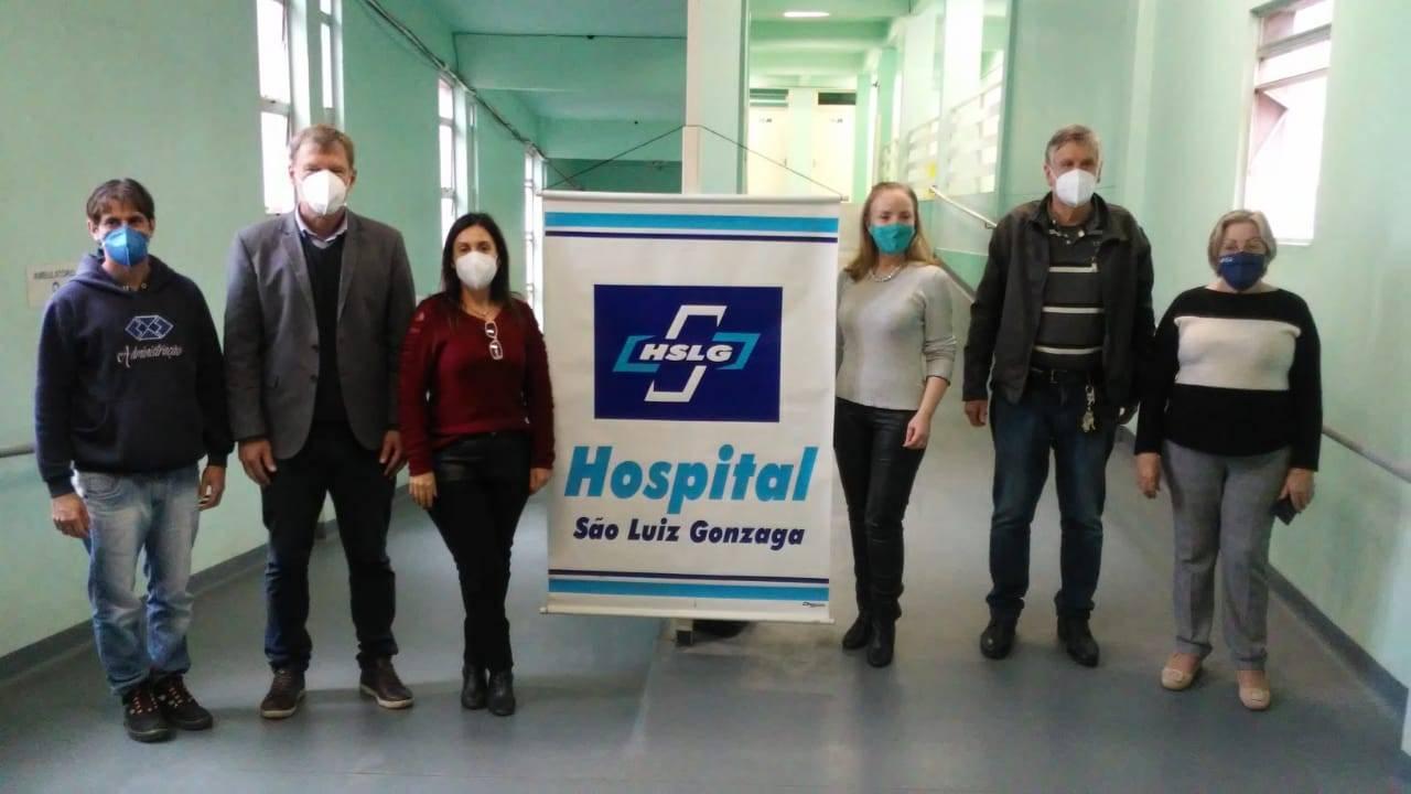Rampas internas do Hospital São Luiz Gonzaga são revitalizadas