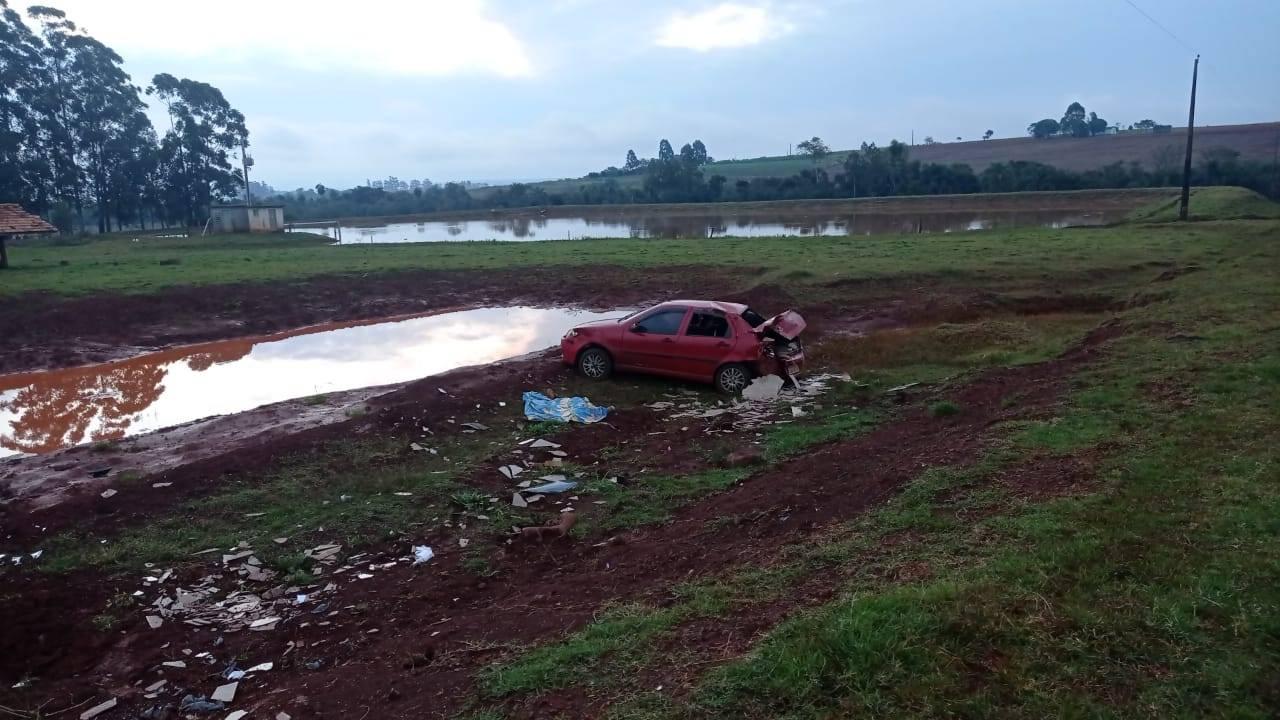 Mulher morre em acidente na ERS 168 em São Luiz Gonzaga