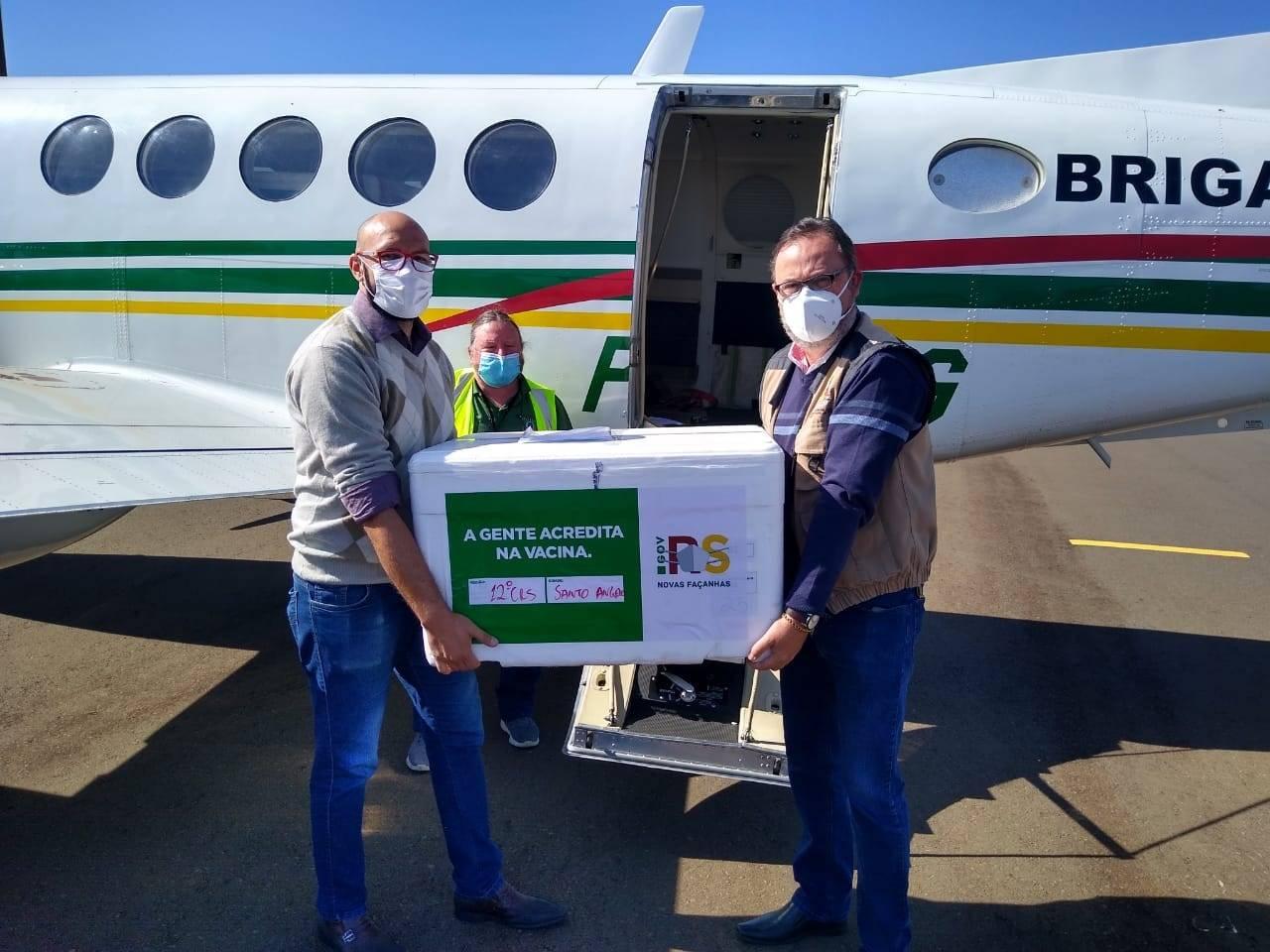 Região das Missões lidera a vacinação contra a covid-19 no Rio Grande do Sul