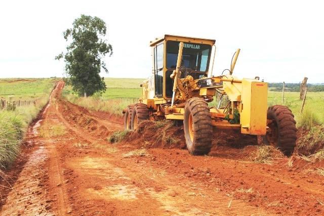 Secretaria de Obras e Viação informa o cronograma de manutenção das estradas do interior
