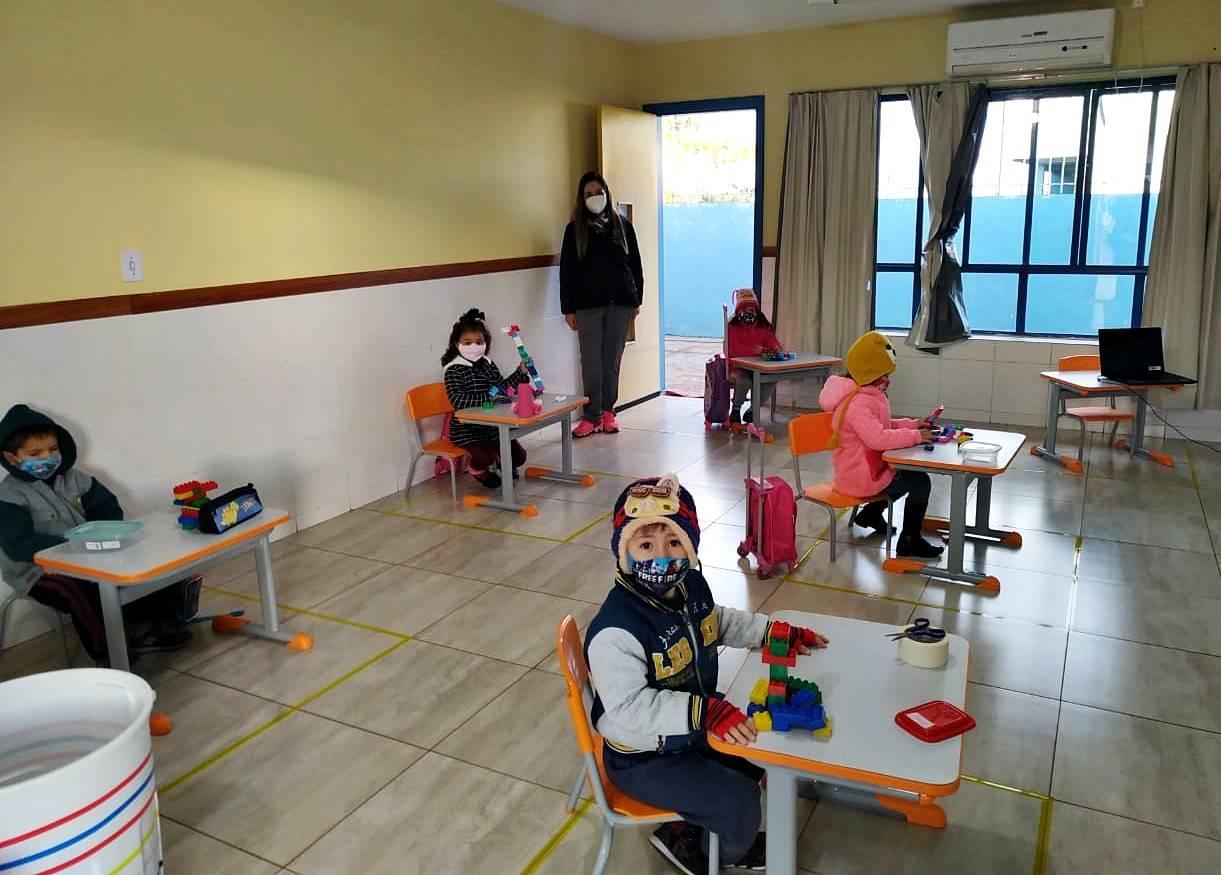 Aulas presenciais para crianças de 0 a 3 anos na Rede Municipal de São Luiz Gonzaga retornam no dia 2 de agosto