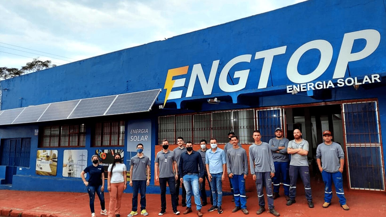 ENGTOP Energia Solar se torna uma das referências do setor em São Luiz Gonzaga