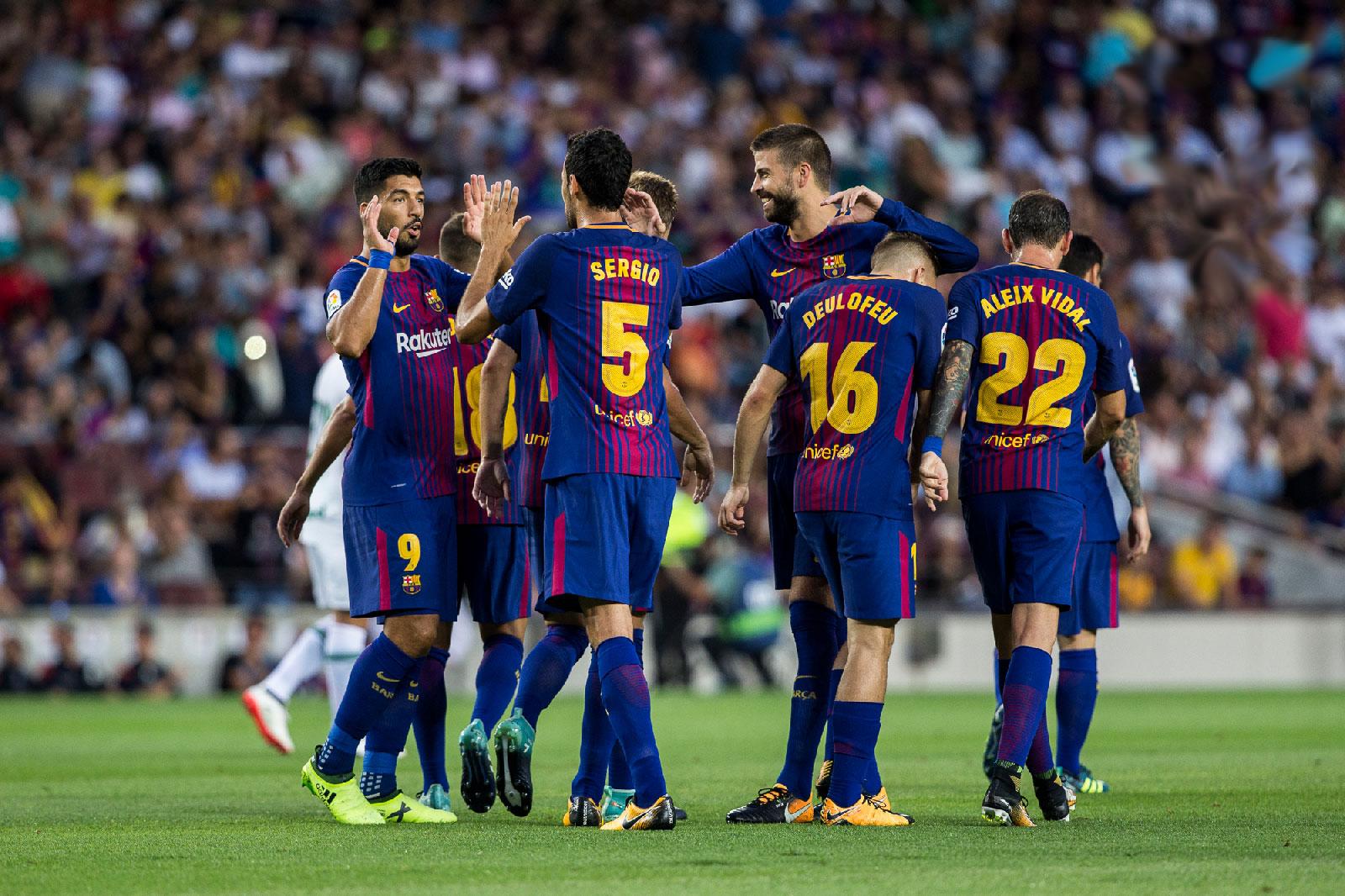 Barcelona vs Eibar: En vivo hoy por la fecha 24 de la liga ...