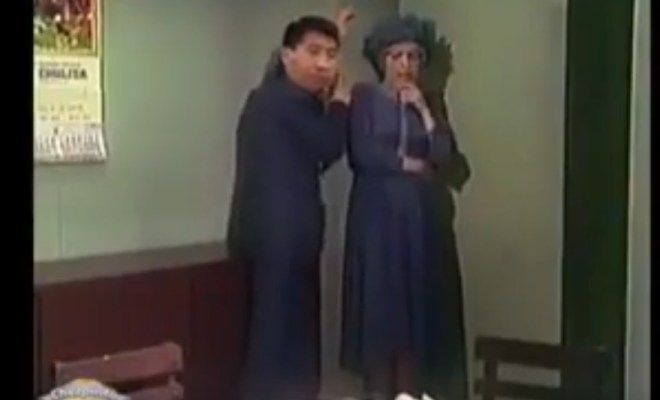 Crean parodia del Cahvo del 8 donde Mamani acosa a la bruja del 71.