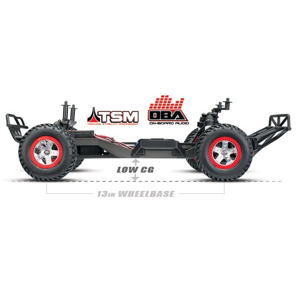Traxxas Slash VXL 2wd RTR Short Course OBA TSM 2.4Ghz 1:10