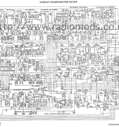 go to the uniden president ax144 circuit diagram page [ 1011 x 787 Pixel ]