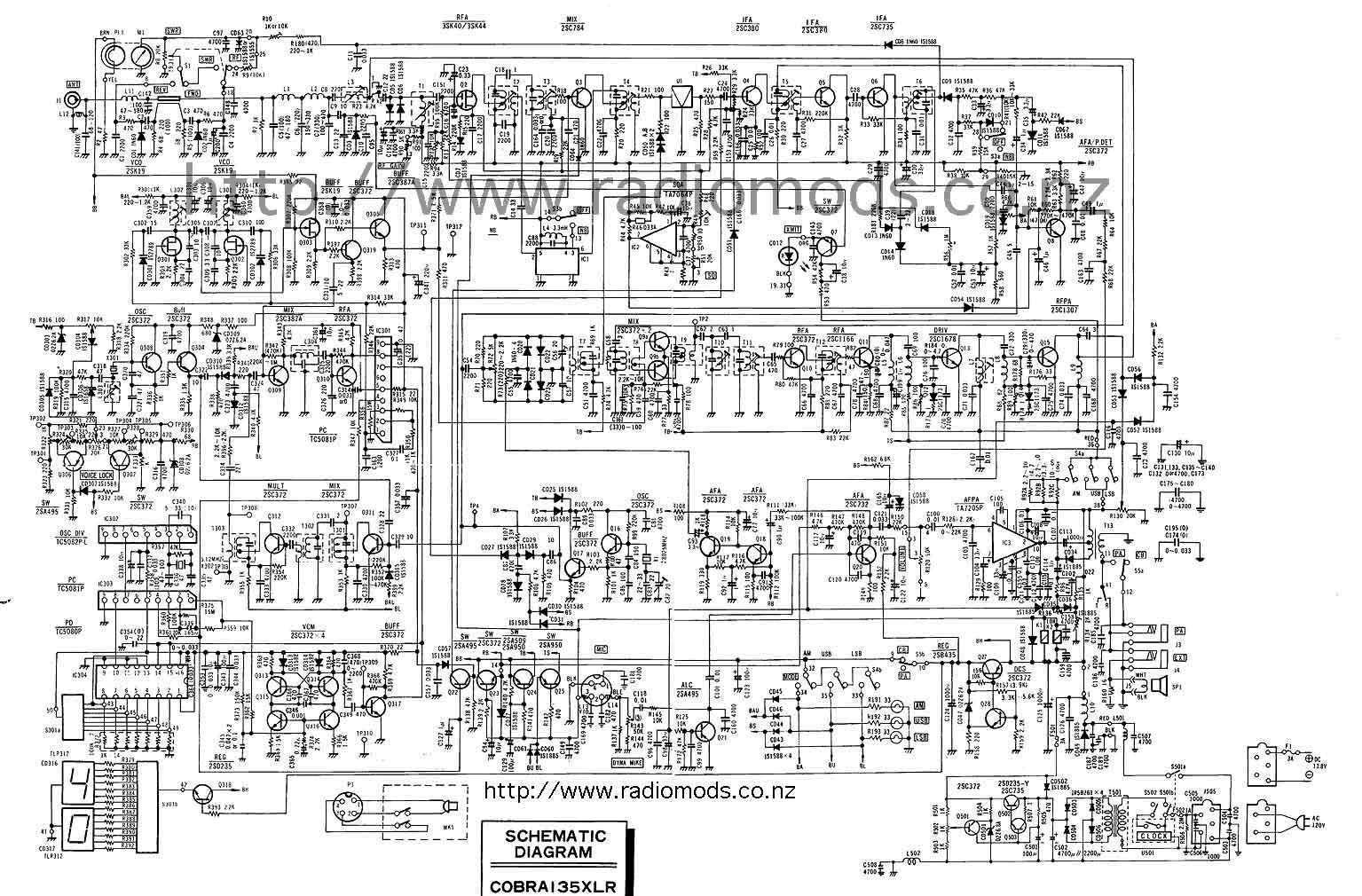 hight resolution of the defpom cb and ham circuit diagram page cb radio block diagram